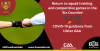 Return to squad training and competitive games in the Six Counties – COVID-19 guidance from Ulster GAA